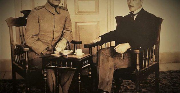 Atatürk Sivas Kongresi'nde Başkanlık sistemini anlatıyor