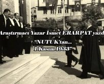 1 Kasım 1933 Çarşamba