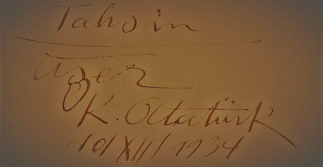 10 Aralık 1934 'Tahsin Uzer'