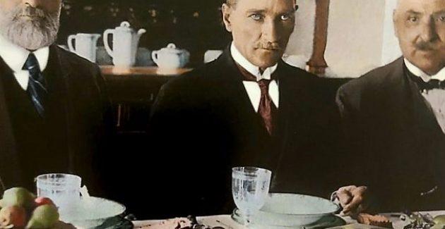 Mustafa Kemal Paşa Claude Farrere ile İzmit'te
