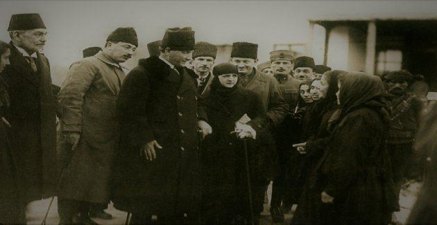Atatürk'ün Türk Kadınına Hitabı 23 Mart 1923 Konya