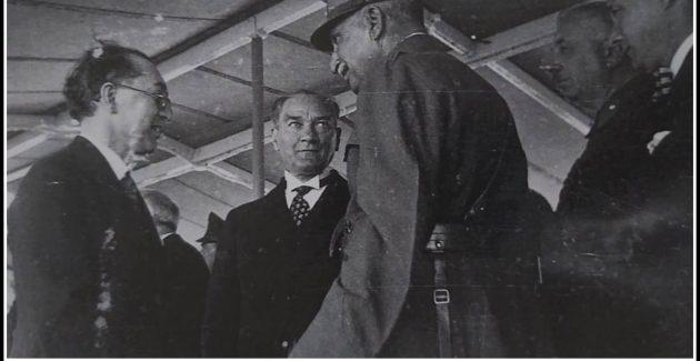 """""""Atatürk İran Şahı Rıza Pehlevi ile İstanbul'da (26 Haziran1934)"""""""