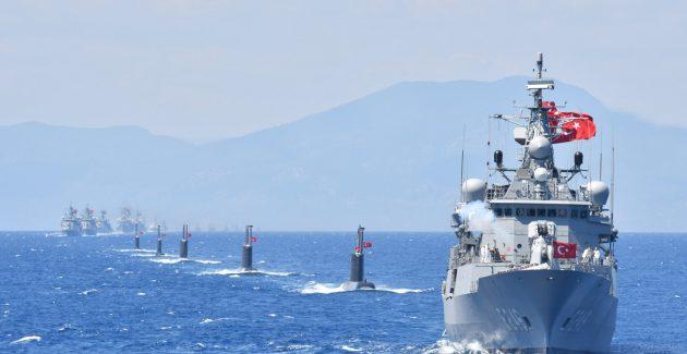 Akdeniz Satrancı'nda Mavi Vatan