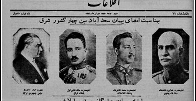 Sadabat Paktı'nın Büyük Düşünürü Atatürk Diyor ki:
